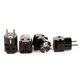 European Adapter Plug, OREI Travel Adaptor for Europe Schuko