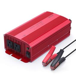 BESTEK 1000W/1200 Car DC 12V to AC 110V Power Inverter Dual