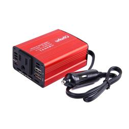 150W Car Power Inverter DC 12V to 110V AC Converter with 3A