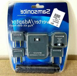 Samsonite 1600W Converter Adapter Plug Kit SM6235CG 220V/240