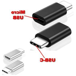 2pcs MICRO USB TYPE-C CONVERTER ADAPTER for SAMSUNG S10 S9 S
