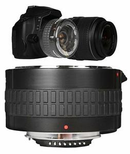 2x OPTICAL CONVERTER FOR NIKON DSLR CAMERAS AND NIKON 70-300