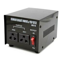 300 Watt 110 to 220 Electrical Power Voltage Converter Trans