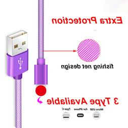 3 pack USB C Type C to Micro USB Adapter Converter car charg