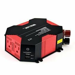 BESTEK 400W Car DC 12V to 110V Power Inverter Adapter Dual A