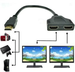 4k hdmi cable splitter adapter 2 0