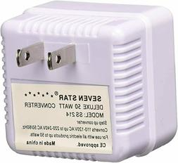 50 Watt Reverse Step Up Voltage Converter 110 to 220 Volt 11