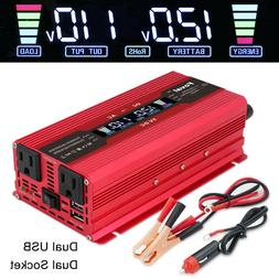 5000w Peak Car Vehicle Power Inverter Converter DC 12v to AC