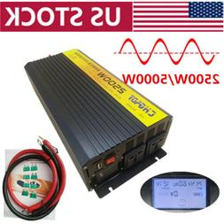 5000w peak pure sine wave power inverter