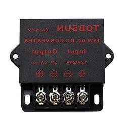 BINZET DC Converter Step Down Regulator 5V Regulated Power S