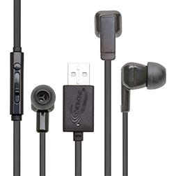 Califone E3USB Ear Bud with Microphone and USB Connector