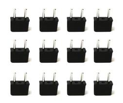 Ceptics USA to Europe and Asia High-Quality Plug Adapter Con