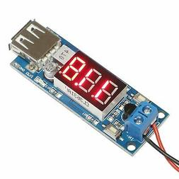 DROK DC-DC Buck Voltage Converter 6.5-12V to 5V 2A Step-down