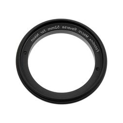 Fotodiox 52mm Macro Reverse Ring Camera Mount Adapter for us