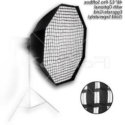 """Fotodiox EZ-Pro Octagon Softbox 48"""" with Speedring for Bowen"""