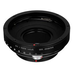 Fotodiox Pro Lens Mount Adapter with Built-in Aperture Contr