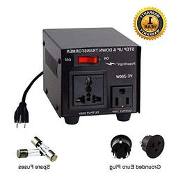 Power Bright VC200W Voltage Transformer 200 Watt Step Up/Dow