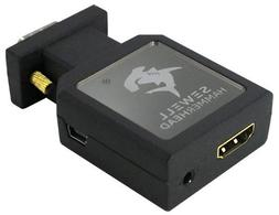 Sewell Hammerhead VGA to HDMI Active Converter 1080p Compact