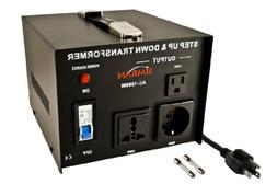 Simran AC-1000 Voltage Power Converter Step up Down Transfor