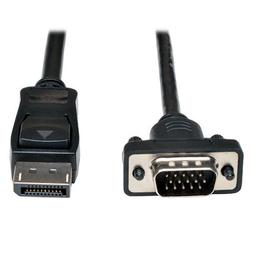 Tripp Lite DisplayPort to VGA Active Cable Adapter, DP to HD