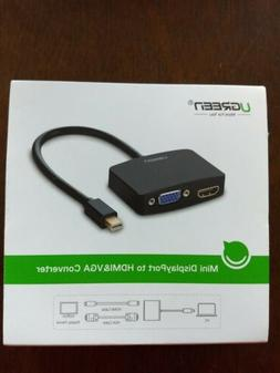 UGREEN Active HDMI to VGA Adapter Converter with 3.5mm Audio