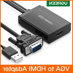 Ugreen Active VGA to HDMI Converter Cable With Audio For Pro