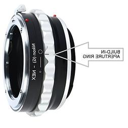 Adapter To Convert Nikon F-Mount D, G-Type Lens To E-mount F