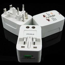 All-in-One Universal Travel Power Plug Adaptor Socket Conver