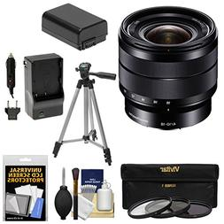 Sony Alpha E-Mount 10-18mm f/4.0 OSS Wide-angle Zoom Lens +