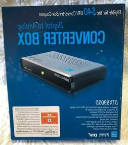 Digital Stream Analog Pass-Through DTV Converter Box Model N