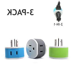 OREI Australia, New Zealand, China Travel Plug Adapter - 2 U