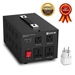 SEYAS 1000W Auto Step Up & Step Down Voltage Transformer Con