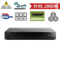 Sony BDP-S3500 Region Free DVD and Zone ABC Blu Ray Player w