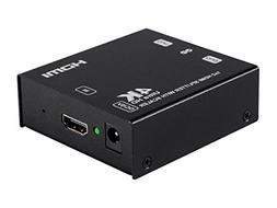 Blackbird 4K 1x2 HDMI Splitter with 4K Upscaling