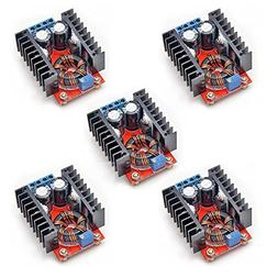 Gowoops 5PCS of Boost Converter Module XL6009 3-30V to 4-35V
