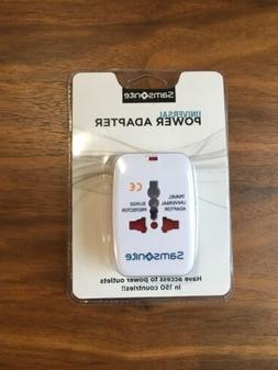 Compact Samsonite Universal Power Adapter Travel White Facto