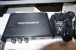 MONOPRICE COMPOSITE, S-VIDEO, AND HDMI TO HDMI CONVERTER