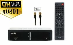 eXuby Converter Box for TV w/ Coax Cable for Recording and V