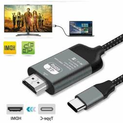 Converter For iPhone/Samsung/Laptop USB Type-C To HDMI TV/Mo