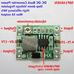 DC-DC Buck Step-down Regulator Converter 4.2~23v to 3V 3.3V