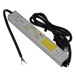 LEDwholesalers 12 Volt DC Waterpoof LED Power Suppply Driver