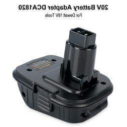 For Dewalt DCA1820 20V MAX To 18V Adapter Converter For Dewa