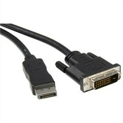 6ft Displayport To Dvi Adapter Cable M/M Dp To Dvi Converter