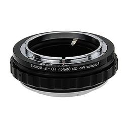 Fotodiox DLX Stretch Lens Mount Adapter - Canon FD and FL 35