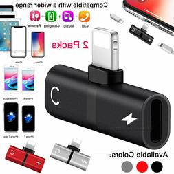 dual adapter converter charger and headphone jack