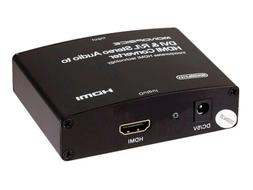 DVI & R/L Stereo Audio to HDMI Converter