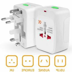 US to EU Europe Universal Travel AC Power Plug Adapter Charg