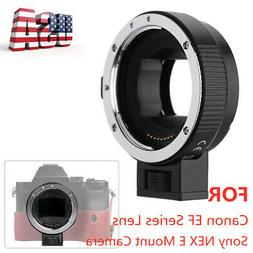 Electronic EF-NEX Auto Focus Adapter For Canon EF EF-S to So