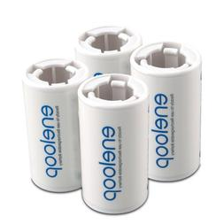 eneloop SEC-CSPACER4PK C Size Spacers for use with AA batter