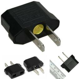 EU Europe Euro To USA US AC Electrical Charger Wall Power Pl